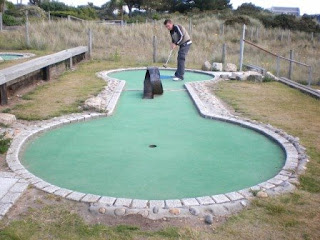 Sandbanks Crazy Golf in Poole, Dorset