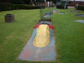 Minigolf at Gowerton Golf Range