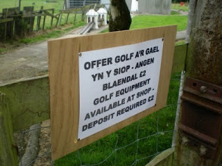 Crazy Golf at Henblas Park