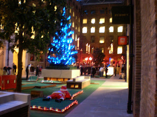 Minigolf at Devonshire Square in London