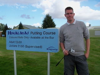 The Himalayas Putting Course at Kingsway Golf Centre in Melbourn, Cambs