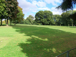 The Pitch & Putt Golf course at Conyngham Hall Grounds in Knaresborough