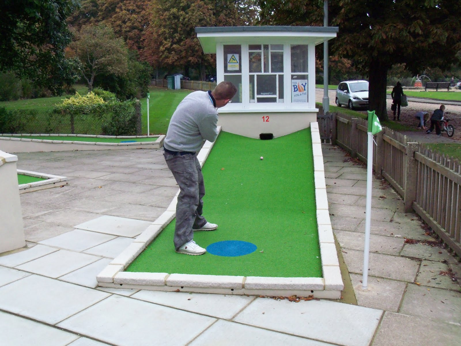 The Ham and Egger Files: Poole Park, New 12-hole Crazy ...