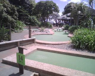 Lilliputt Mini Golf course in Auckland, New Zealand