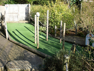 On Safari Adventure Golf at Paradise Wildlife Park in Broxbourne