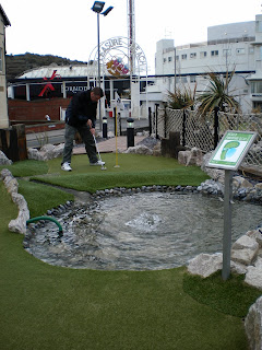 Adventure Golf at Blackpool Pleasure Beach