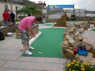 Strokes Adventure Golf course in Margate, Kent