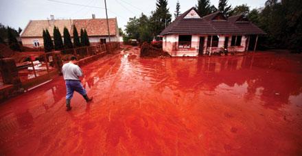 Hungary S Red Sludge Photo Credit Newscom