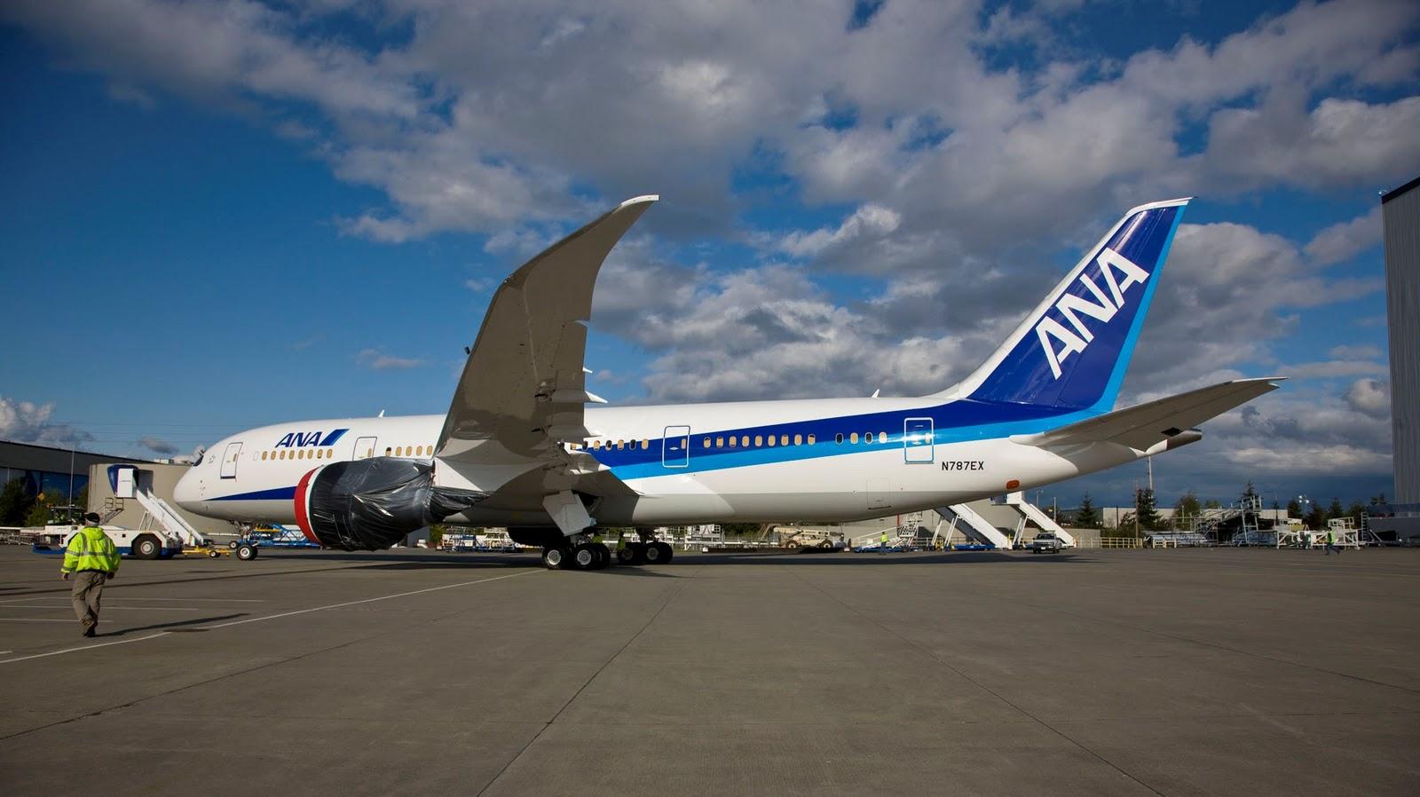 Ana Boeing 787 Dreamliner Wallpaper 868 Aeronefnet