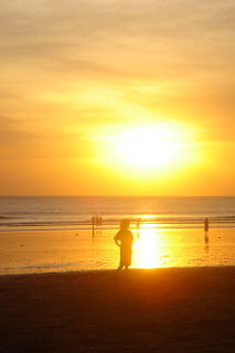 Sunset Bali Kuta Beach