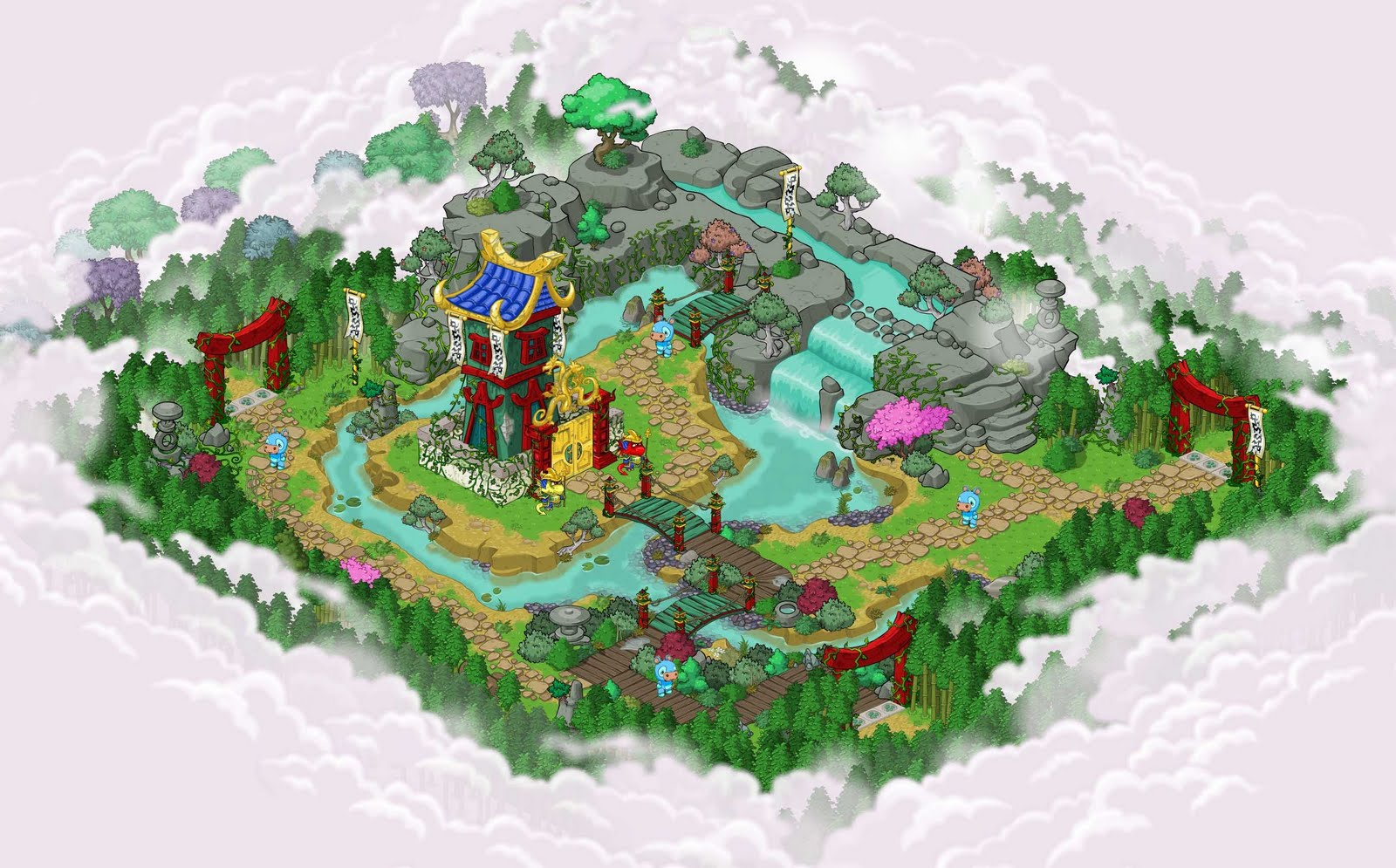 Rick Acosta Isometric Backgrounds For Neopets