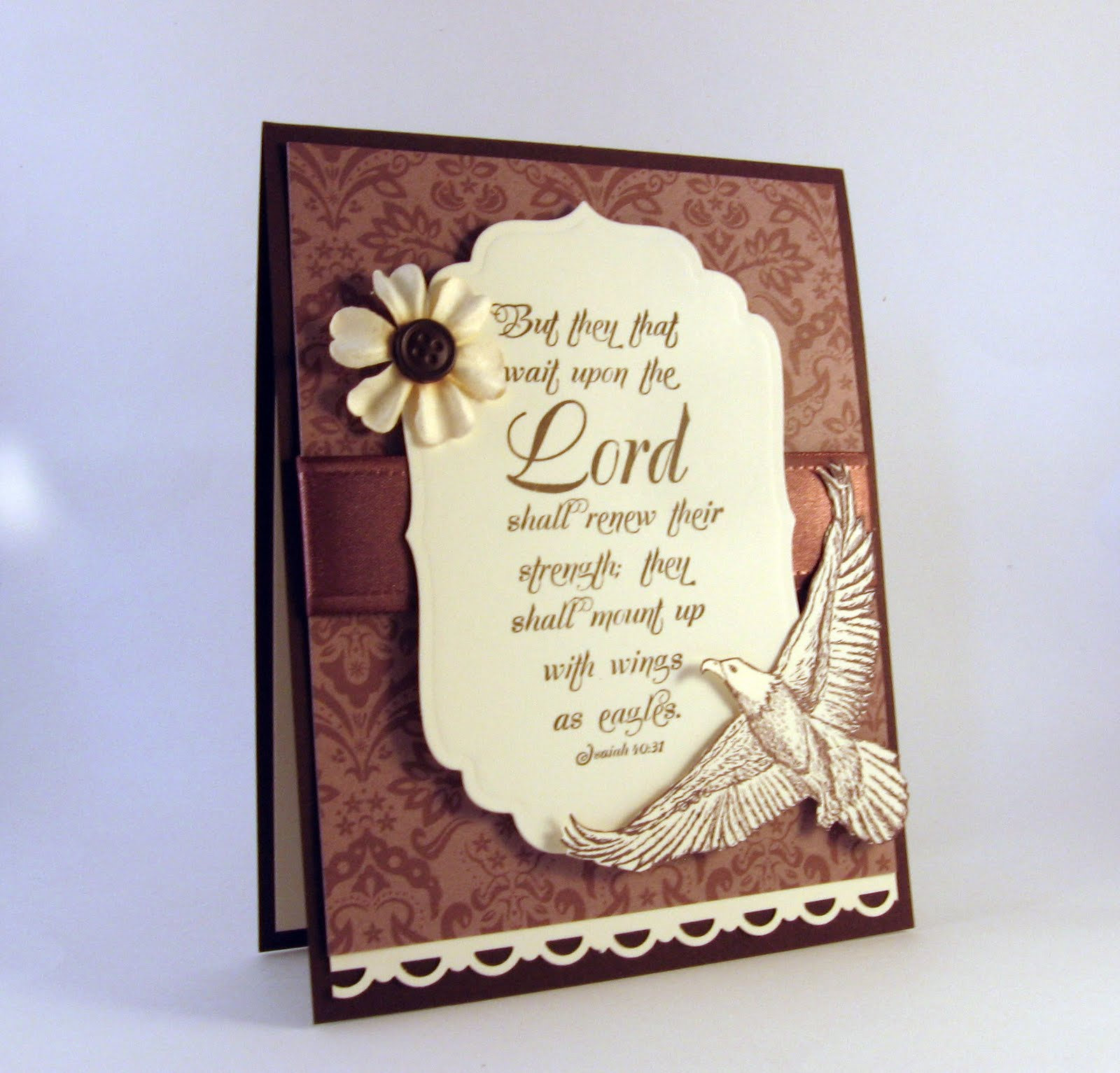 Sympathy Quotes Bible: Stamping Up North With Laurie: Sympathy Card