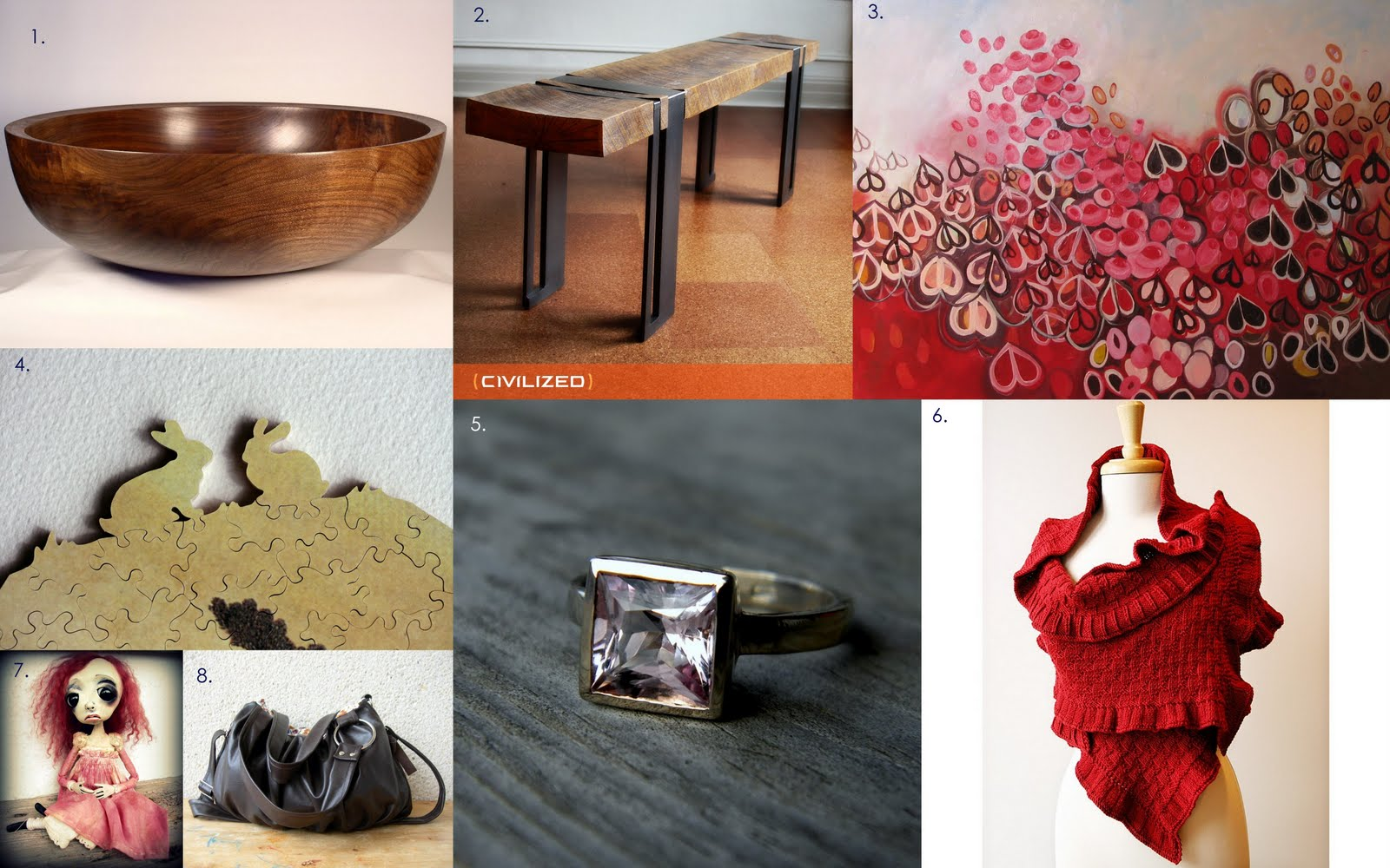 Samantha Brown Luggage Qvc: Artisans Gallery Team: AGTeam Valentine's Day Gift Guide
