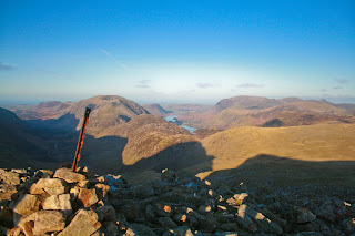 Haystacks and Buttermere from Green Gable
