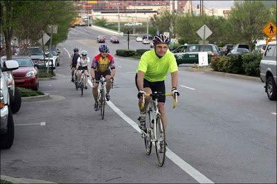 Image of bicyclists in Nashville, TN
