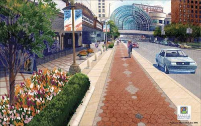 Image of Indianapolis Cultural Trail rendering
