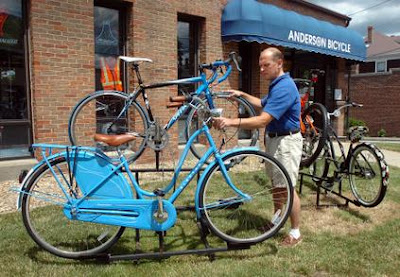 Paul Anderson, owner of Anderson Bicycle in Quincy, Massachusetts