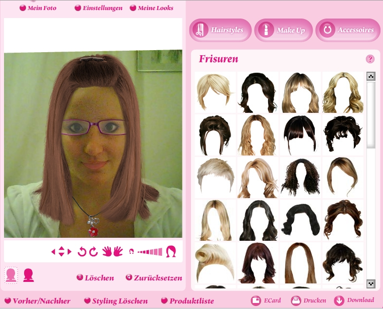 Frisuren Ausprobieren Ipad Helena Blog