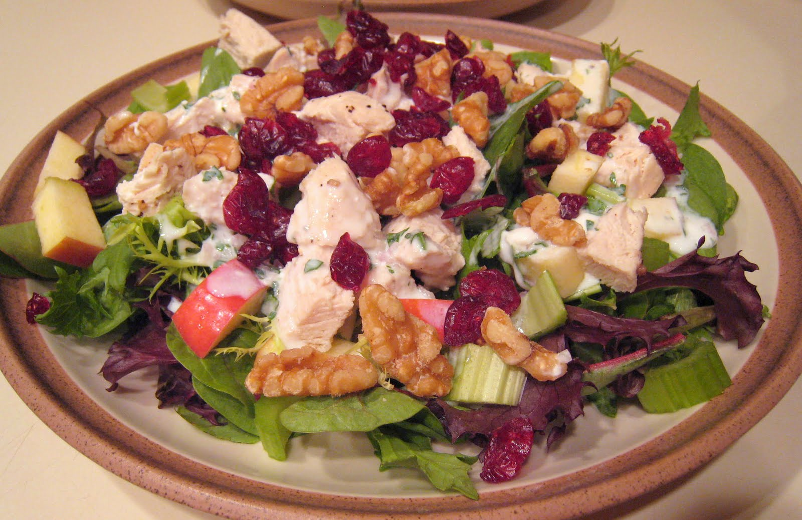 APPLE A DAY: Lightened Waldorf Salad