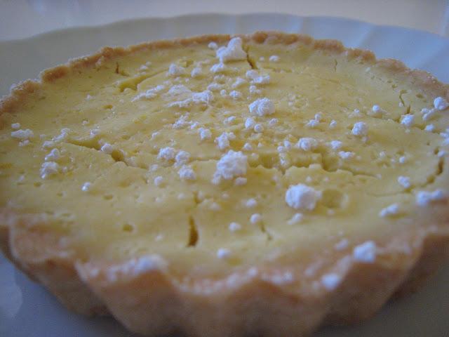 meyer lemon buttermilk tart
