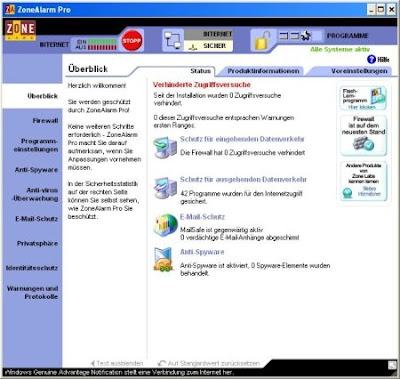 Zone Alarm Firewall free download