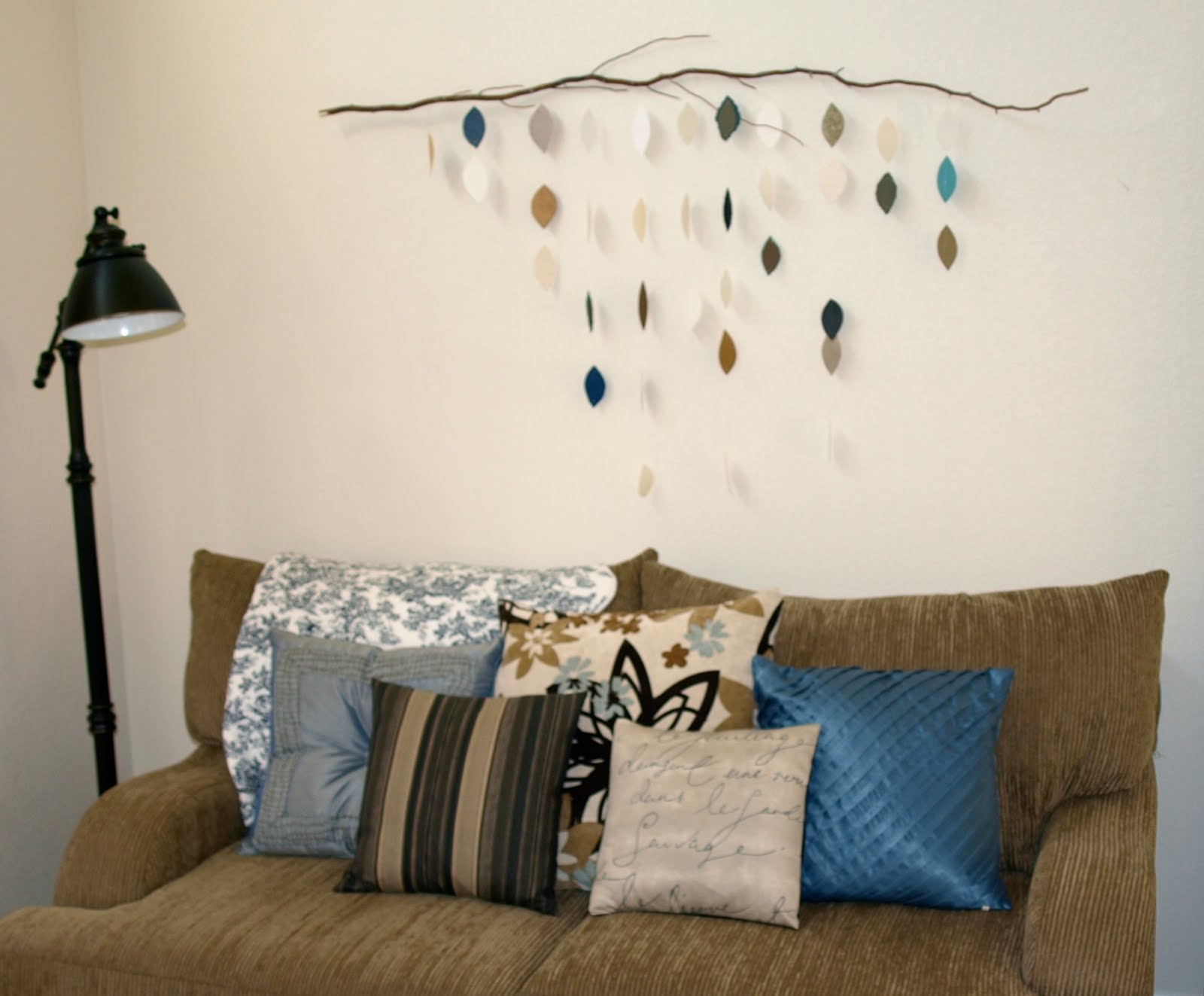 oh write!: Hanging Leaves Wall Art