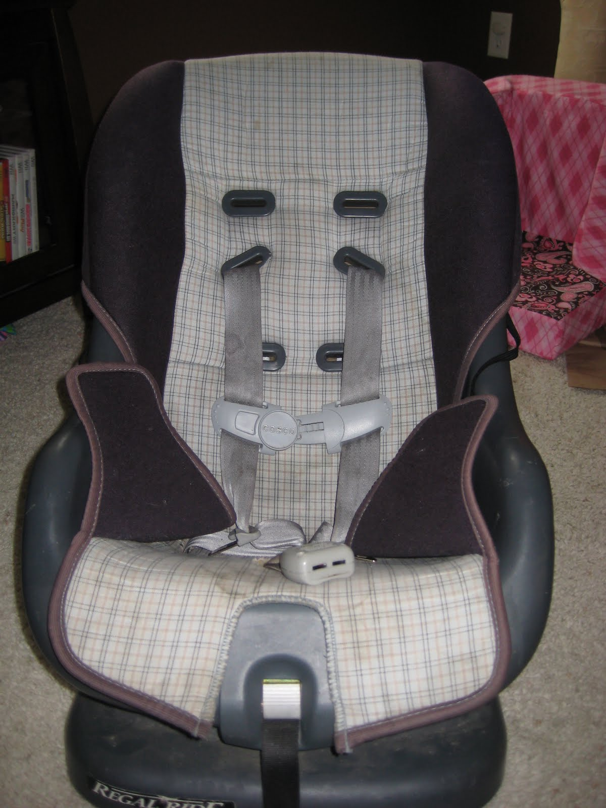 Wondrous Laura Thoughts Car Seat Re Cover Cjindustries Chair Design For Home Cjindustriesco