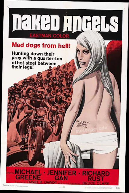 Naked Angels - movie POSTER (Style A) (11 x 14) (1969