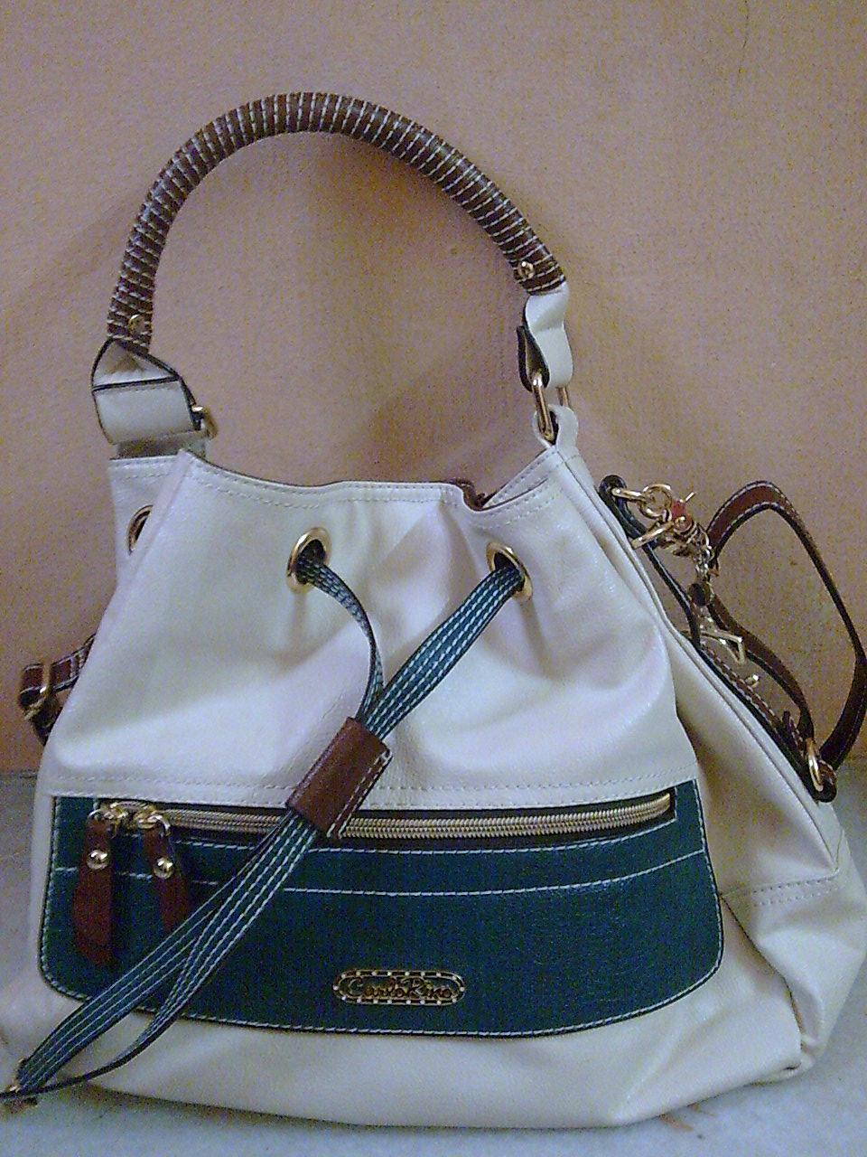 d5a8a5f423e9 GreatestBargain  Preloved Carlo Rino handbag