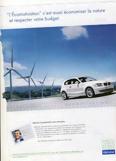 Ecomotivation BMW Alphabet