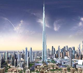 Burj Dubai Tower - Projection Look