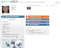Air France Bluenity Social Media Site