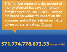 Walmart Saves Customers