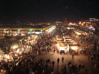 Jemaa el Fna Square Marrakesh Morocco
