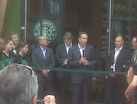 Starbucks Founder CEO Howard Schultz in Paris