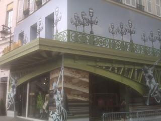 Prada Store Front Faubourg St Honore, Paris