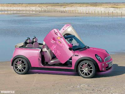 custom pink smart car. Black Bedroom Furniture Sets. Home Design Ideas