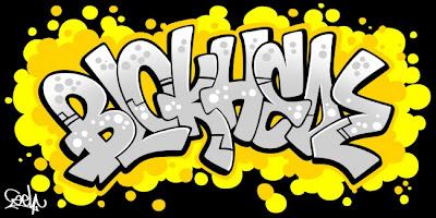 arsaroceu: Graffiti Alphabet Blokhedz - Graffiti Fonts