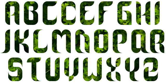 Graphic Graffiti Alphabet Letters A Z