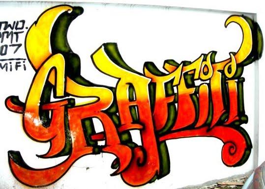 Color Graffiti Style Cool