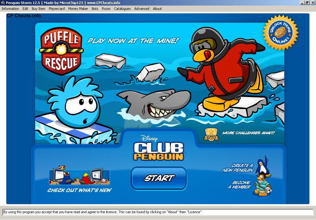 Club penguin bot maker download free money.