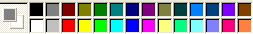 MS Paint color palette