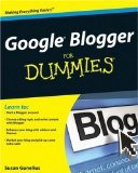 Google Blogger for Dummies book cover