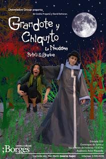 Cecilia Propato: GRANDOTE Y CHIQUITO, La Neodisea