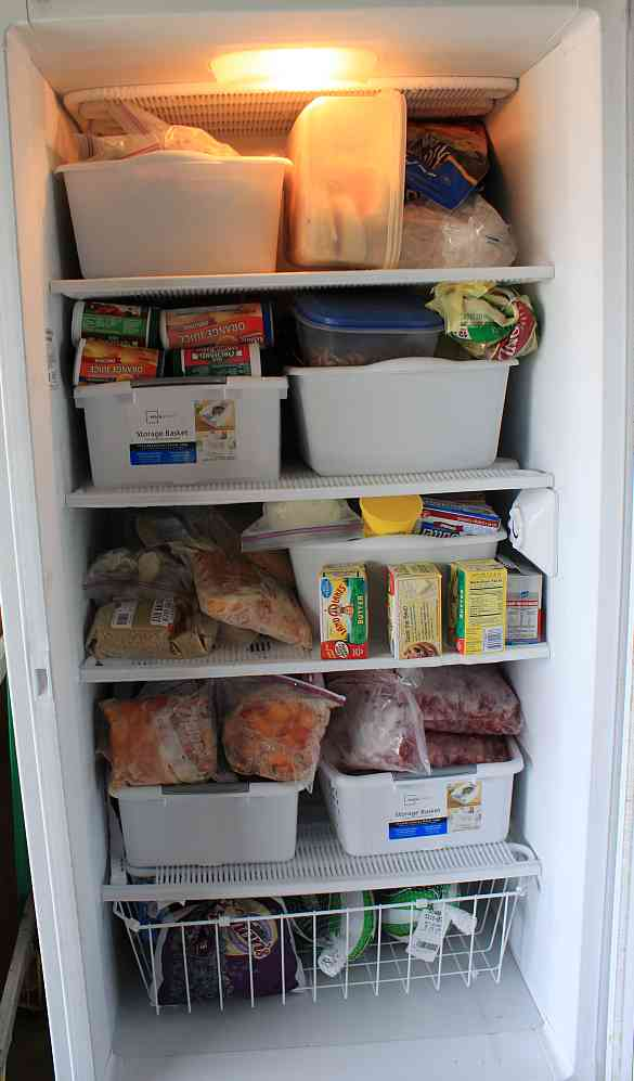 Brand new Easy Living the Hard Way: Organizing the Upright Freezer LM22