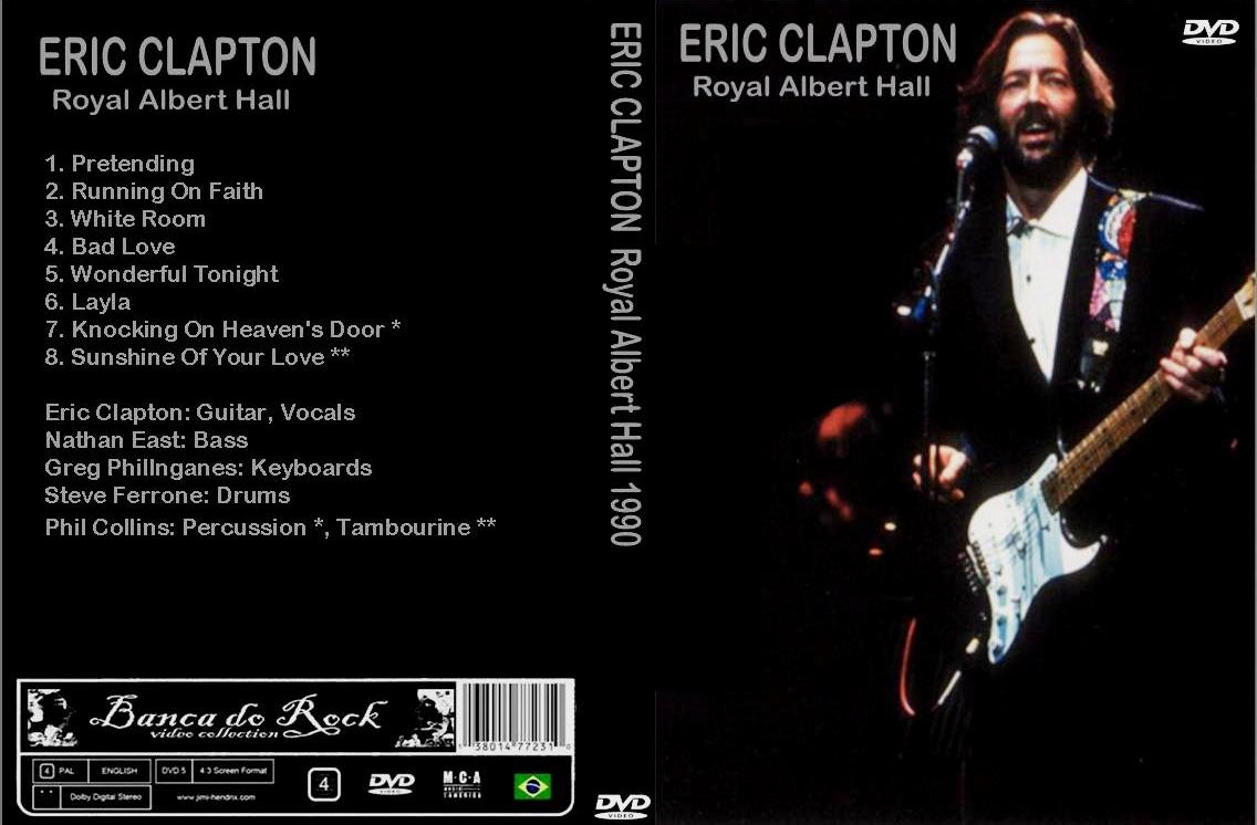 banca do rock rock concert dvd 842 dvd eric clapton 1990 bootleg. Black Bedroom Furniture Sets. Home Design Ideas
