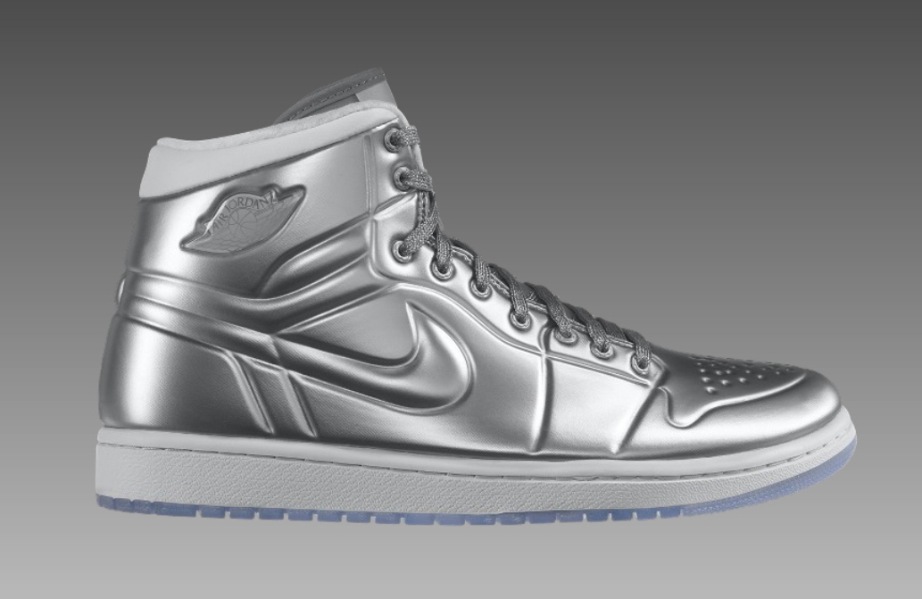 nike air jordan 1 anodized armour silber sneakermag the sneaker blog. Black Bedroom Furniture Sets. Home Design Ideas