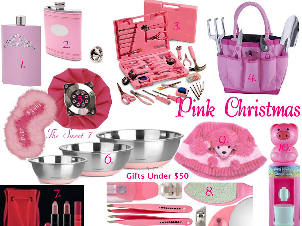 Gifts Under $50 - Pretty in Pink!