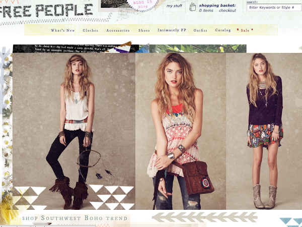 Free People - Latin America & Caribbean / FREE INT'L Shipping till MONDAY!