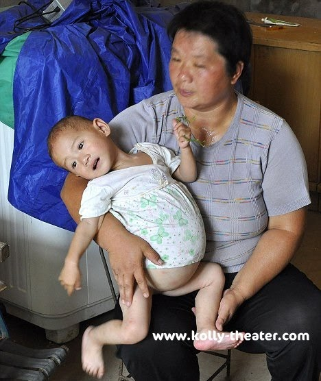 BUSTLIES: Worlds Youngest Mother-One Year Old Chinese Girl